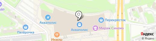 АВТОполюс на карте Пскова
