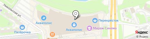 Рукодея на карте Пскова