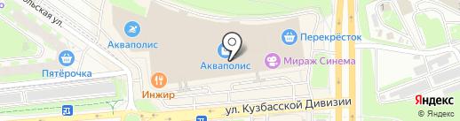 Pronto Moda на карте Пскова
