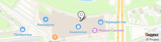 Магазин головных уборов на карте Пскова