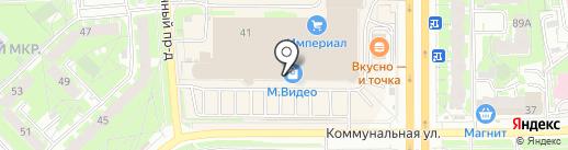 МТС на карте Пскова