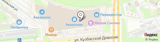 Оптика на Петровской на карте Пскова