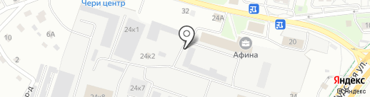 РАМА на карте Пскова