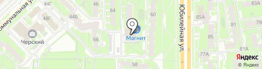 Дентес на карте Пскова