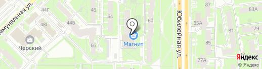 Нена-В на карте Пскова