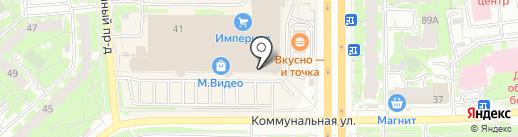 5+ на карте Пскова