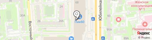 Key на карте Пскова