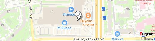 Магазин текстиля для дома на карте Пскова