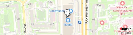 Шубки для трубки на карте Пскова