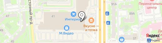 Театральная касса на карте Пскова