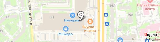 Кредо, КПК на карте Пскова