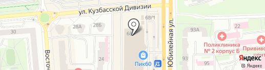 Кармель на карте Пскова