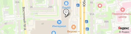 Caliente на карте Пскова