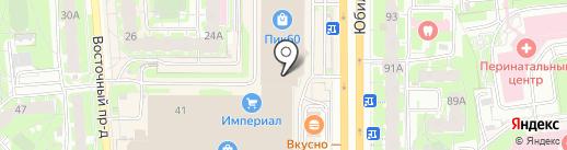Смарт Экспресс на карте Пскова