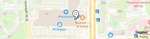 Века Псков на карте Пскова