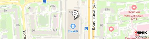 H2O на карте Пскова