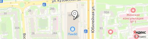 Спарта на карте Пскова