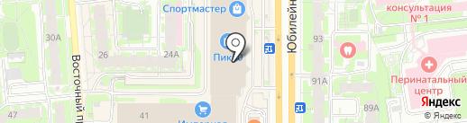 Baby Lux на карте Пскова