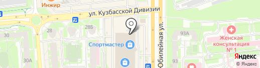 Стол Стул на карте Пскова