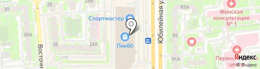 Дом для подарка на карте Пскова