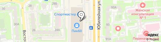 Центр окон на карте Пскова
