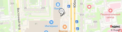 QuestTime на карте Пскова