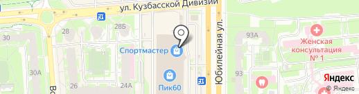 Псков-Электрокомплект на карте Пскова
