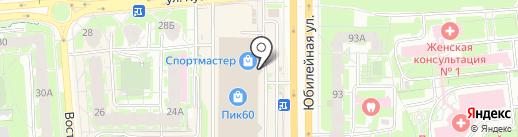 Fazer на карте Пскова