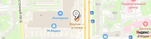 МакАвто на карте Пскова