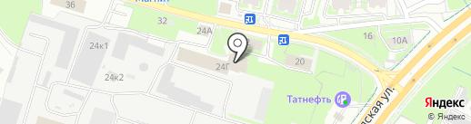 Итекс Глобал на карте Пскова