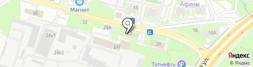 Отдел организации применения административного законодательства на карте Пскова