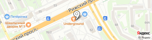 Сервисный центр на карте Пскова