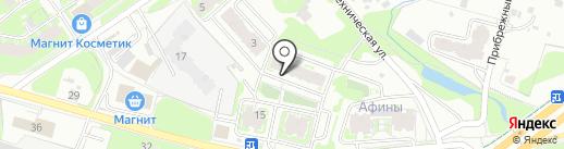 ПсковПластик на карте Пскова