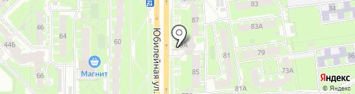 Дом на карте Пскова