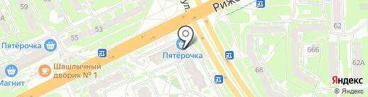 Мастерская по ремонту обуви и сумок на карте Пскова