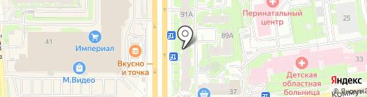 Магазин разливного пива на карте Пскова