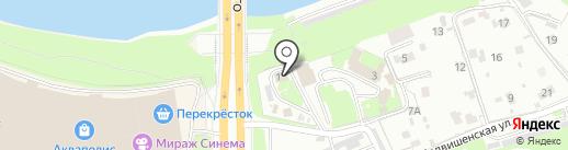Отдел государственного контроля на карте Пскова