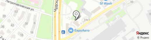 RemCar60 на карте Пскова