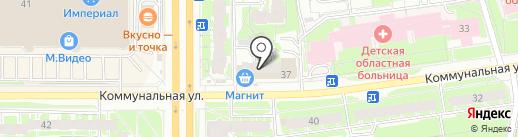 Сеть охотничье-рыболовных магазинов на карте Пскова