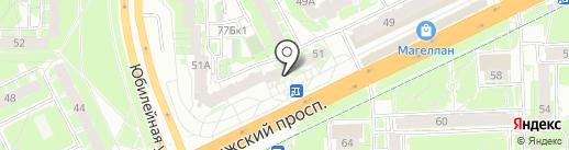Магазин дверей на карте Пскова