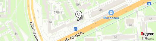 Белорусский трикотаж на карте Пскова