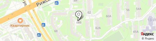 У Елены на карте Пскова