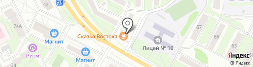 ВИП на карте Пскова