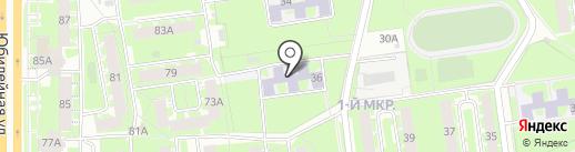 Центр ЛФК и реабилитации на карте Пскова
