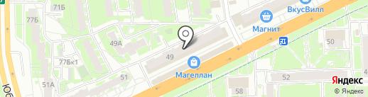 Чётко на карте Пскова