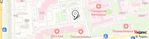 Банно-прачечный комбинат, МП на карте Пскова