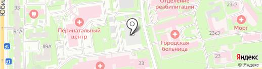 Банно-прачечный комбинат г. Пскова на карте Пскова