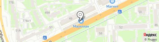 Ключ-Сервис на карте Пскова