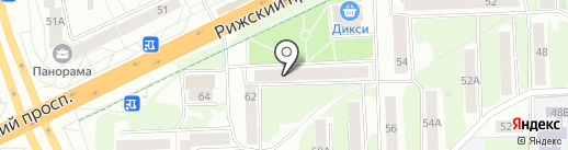 Fashion House на карте Пскова