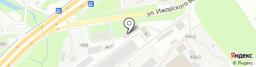 Торговая кондитерская компания на карте Пскова